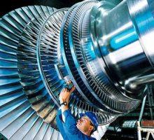توربین نیروگاه تولید برق