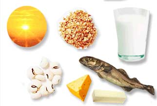 منابع غذایی ویتامین D