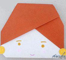 اریگامی عروسک هندی