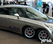 خودروی برقی باتری 8 چرخ