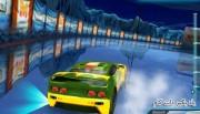 بازی آنلاین مسابقه اتومبیل رانی بر روی یخ