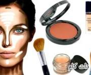 چگونه با آرایش کردن می توانیم صورت را لاغرتر جلوه دهیم؟