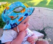آموزش ساخت کلاه آفتابی برای نوزاد