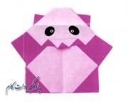 آموزش ساخت خرس پاندا کاغذی _ اریگامی پاندا