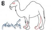 آموزش نقاشی شتر