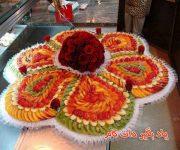 تزئین میوه برای کریسمس و شب یلدا