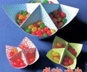 اریگامی ظرف هفت سین برای کودکان