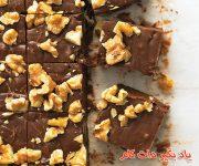 طرز تهیه شکلات گردویی