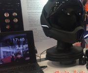 کلاه ایمنی هوشمند موتورسیکلت با دوربین و بلندگو عرضه شد
