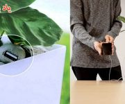 گلدانی که گوشی شما را شارژ می کند
