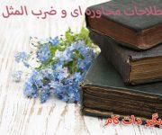 ضرب المثلها و اصطلاحات محاوره ای فارسی به انگلیسی