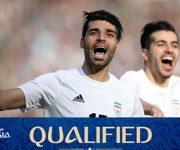 تیم ملی ایران ورود به جام جهانی 2018