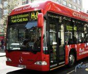"""اتوبوسی که با """"اسید مورچه"""" کار میکند"""