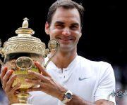 فدر قهرمان تنیس و تحسین او