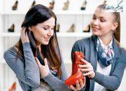 آموزش زبان انگلیسی، خرید کفش