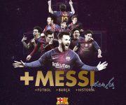 خداحافظی مسی با فوتبال
