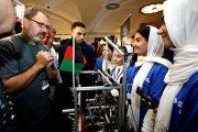 ساخت هواپیمای بدون سرنشین دختران افغان