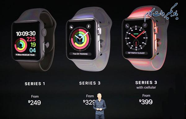 قیمت اپل واچ سری 3
