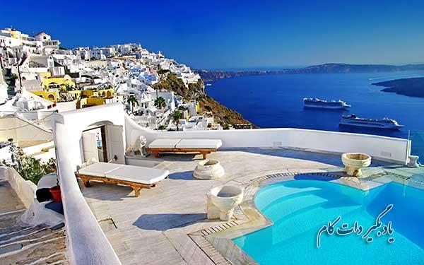 جزیره زیبای یونان