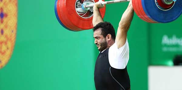 رکورد وزنه برداری جهان