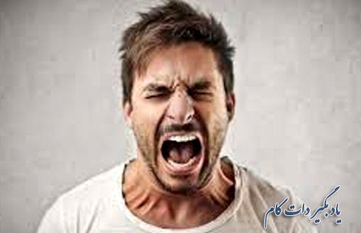 عصبانیت از نشانه های بدخلقی مردان