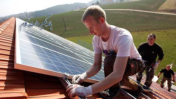تولید برق از انرژی خورشیدی