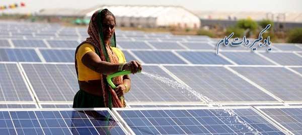 سهم ایران و جهان در تولید انرژی خورشیدی
