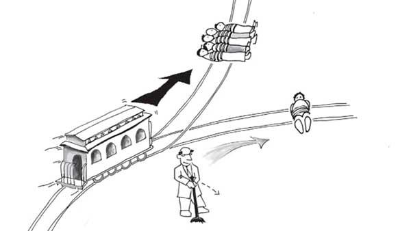 معمای ریل قطار