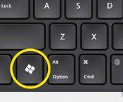 ترکیب کلید ویندوز با سایر کلیدها در کیبورد