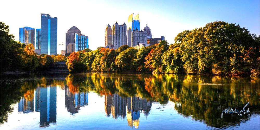 آتلانتا، پایتخت ایالت جورجیا در آمریکا