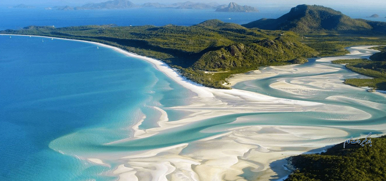 جزایر ویتساندی از جاذبه های گردشگری استرالیا