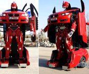 خودروی اسپرت تبدیل شونده به ربات Letrons