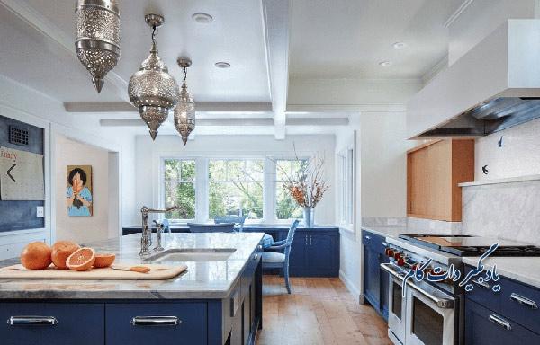 رنگ سورمه در آشپزخانه