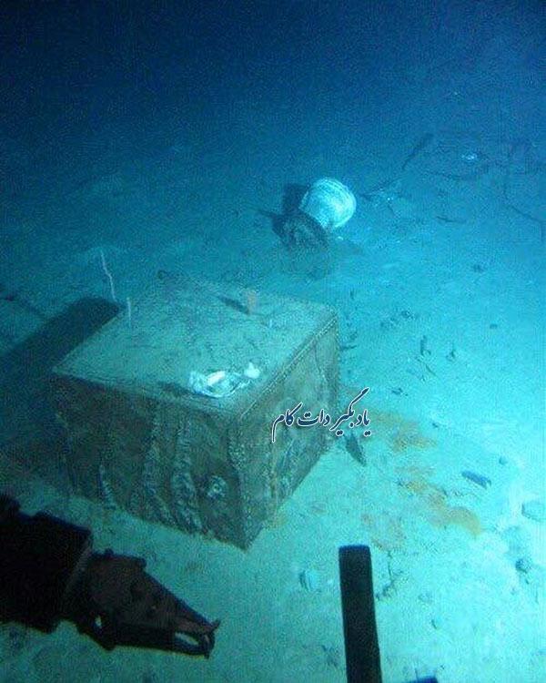 گاو صندوق مرموز پیدا شده از لاشه کشتی تایتانیک