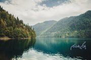 دریاچه ریتسا از جاذبه های گردشگری گرجستان