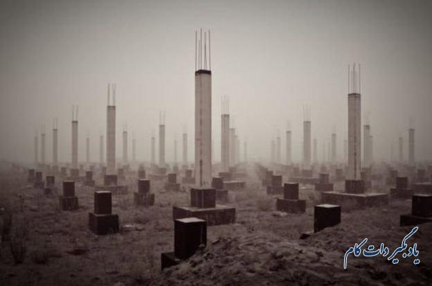 """عنوان عکس پتر استاروف """"قبرستان قرن بیست و یکم"""" است"""