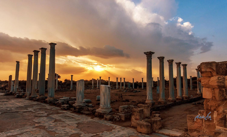 سالامیس از جاذبه های گردشگری قبرس