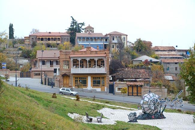 تلاوی از جاذبه های گردشگری گرجستان