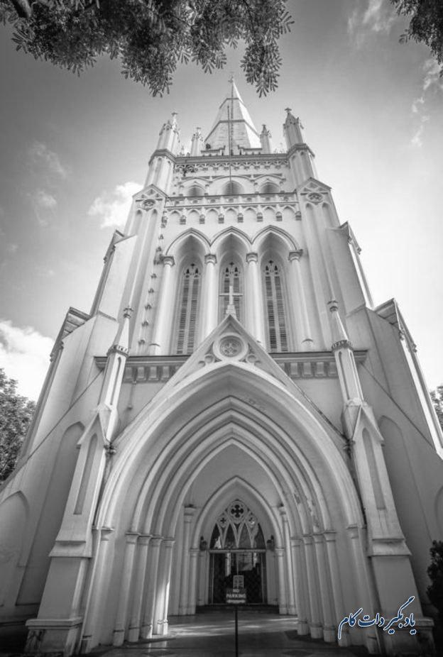 عکس برج کلیسای سنت اندروز از آندریان هادیانتو