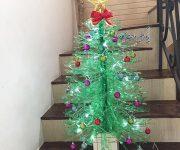 خلاقیت در ساخت درخت کریسمس زیبا