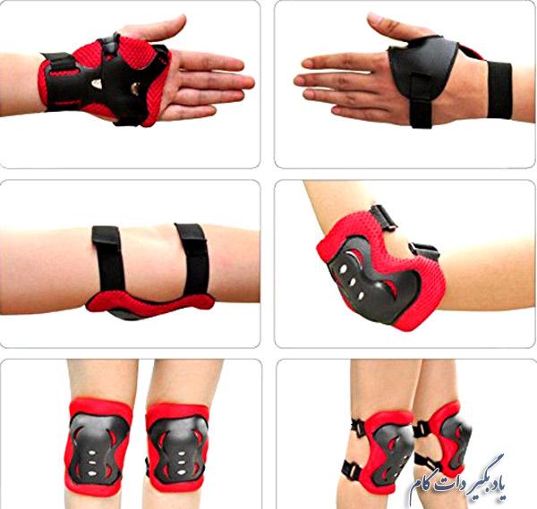 مچ بند، بازوبند، زانوبند از لوازم محافظت در ورزش