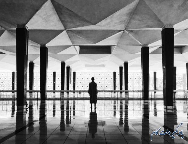 عکس هنکینیگ کیو در مسجد ملی مالزی