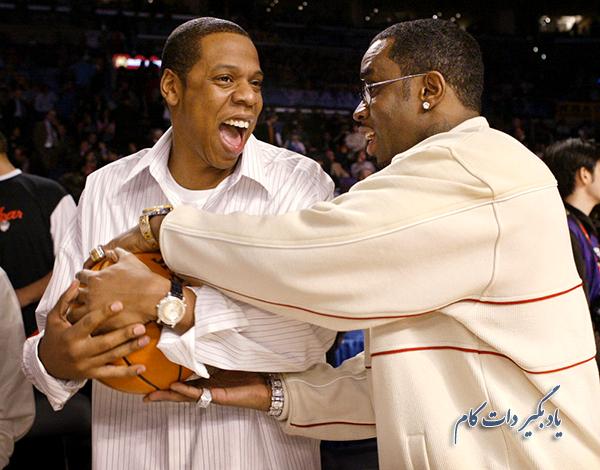 "خوانندگان رپ Jay-Z و Sean ""P. Diddy"""