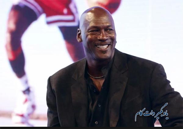 مایکل جردن بسکتبالیست آمریکایی