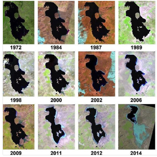 نابودی دریاچه ارومیه