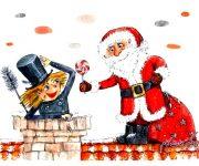 داستان انگلیسی کیتی و دودکش کریسمس همراه با فایل صوتی
