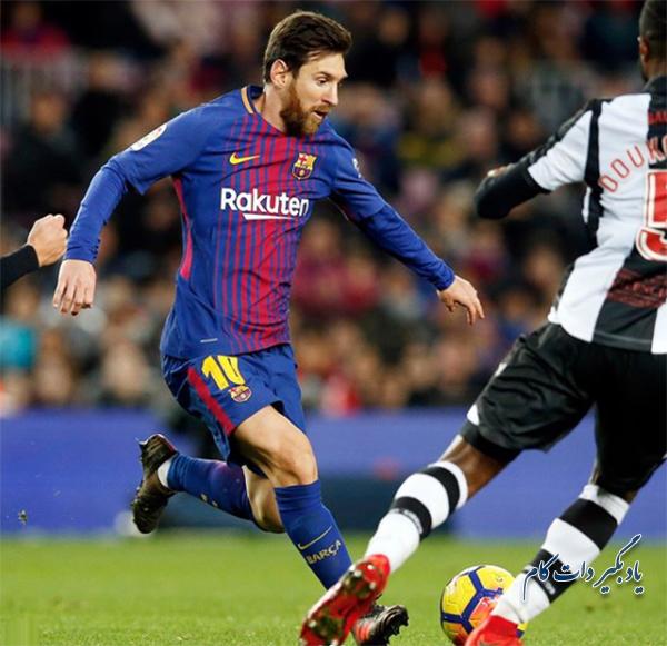 بارسلونا در یک قدمی قهرمانی در لالیگا