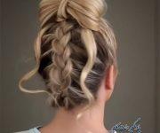 آموزش مدل موهای زیبا برای مهمانی