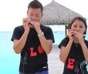 اجرای سازدهنی زوج مالزیایی