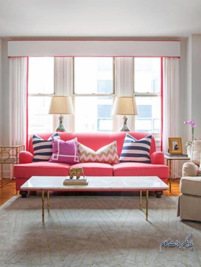 رنگ مبل را با چه قسمتی از اتاق ست کنید؟